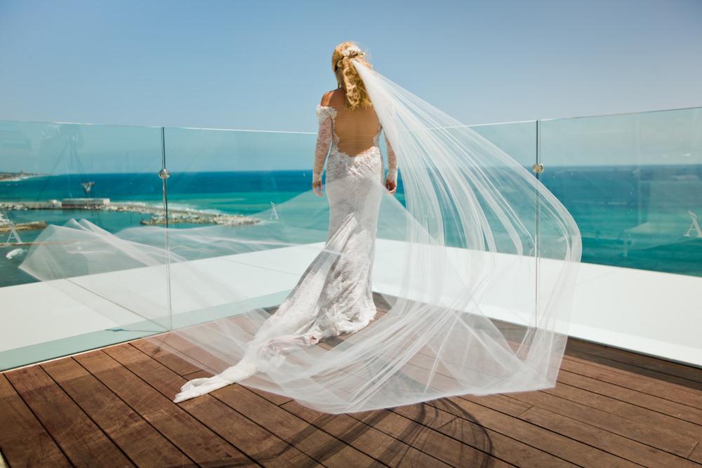 vestido de novia marbella