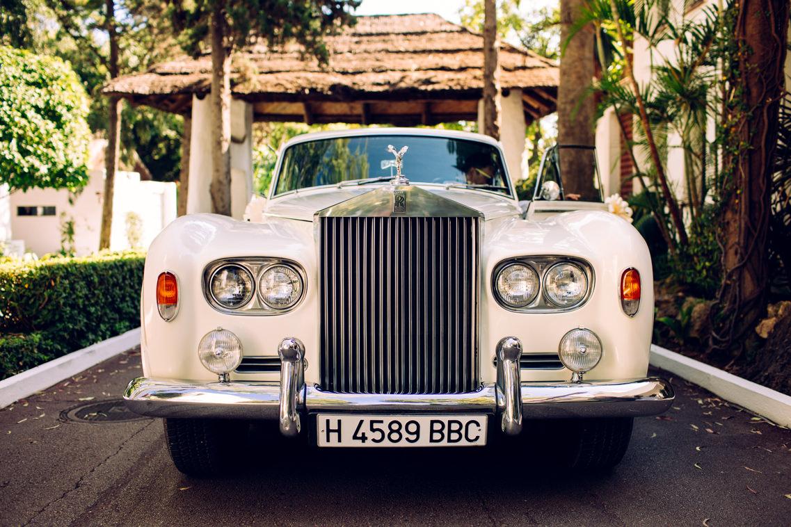 coche para bodas