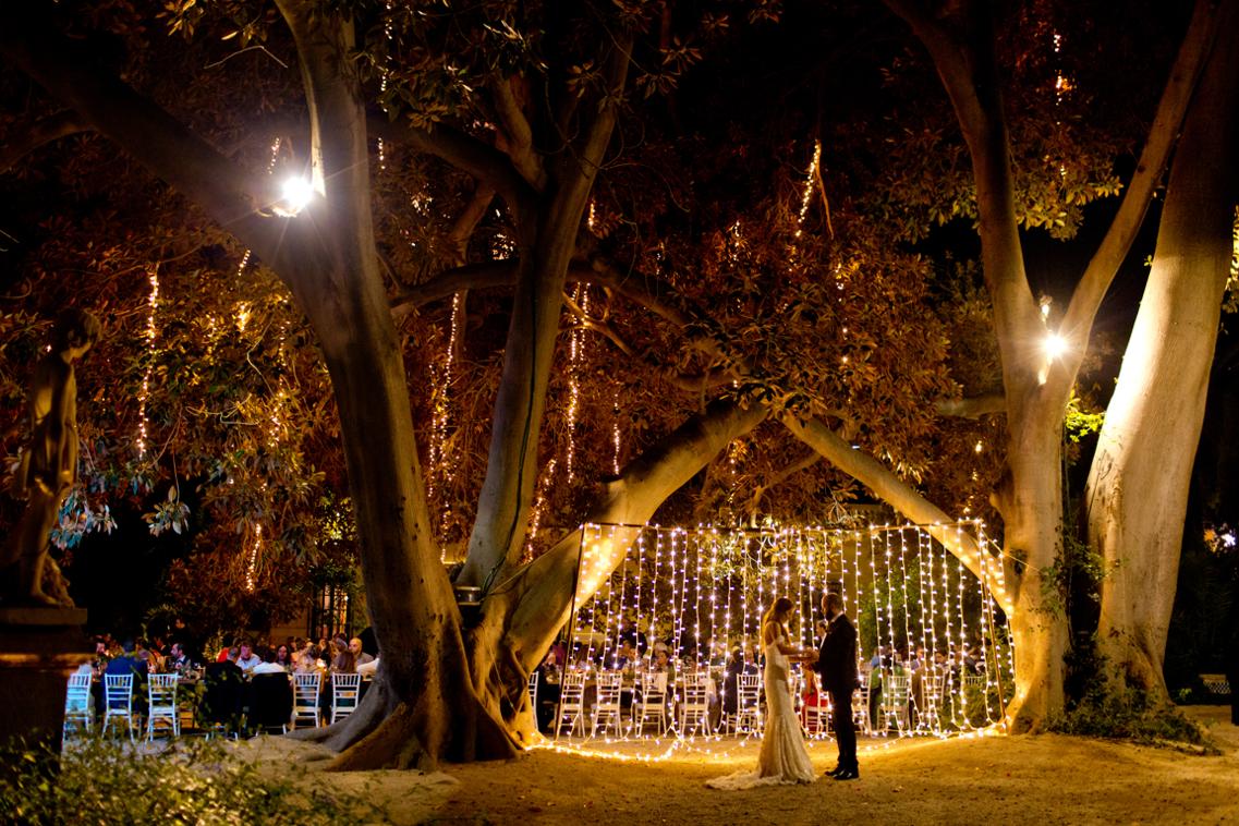 Boda de noche en los Jardines de Abril 50