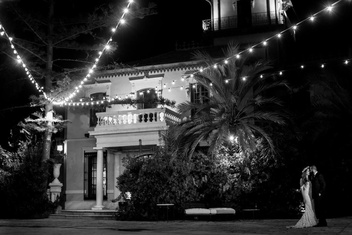 Boda de noche en los Jardines de Abril 53
