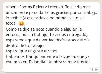Lorenzo y Belén